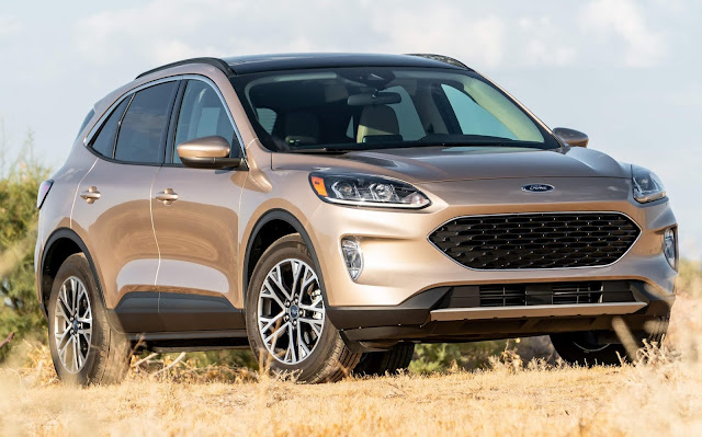 Ford Escape Hybrid chega em 2020 para enfrentar o RAV4