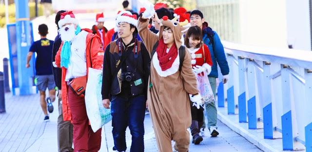 ハマ☆スカ2014 ごみひろいパレード