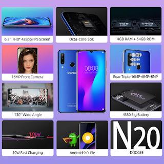 DOOGEE N20 review