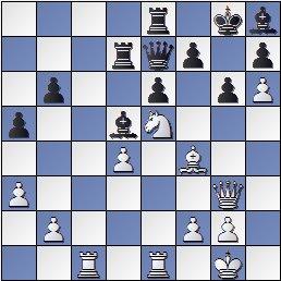 Partida de ajedrez Donner vs. Popel, después de 31.Ce5