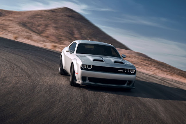 2020 Dodge Challenger SRT Hellcat Redeye Wins Pure Power Award From New England Motor Press Association