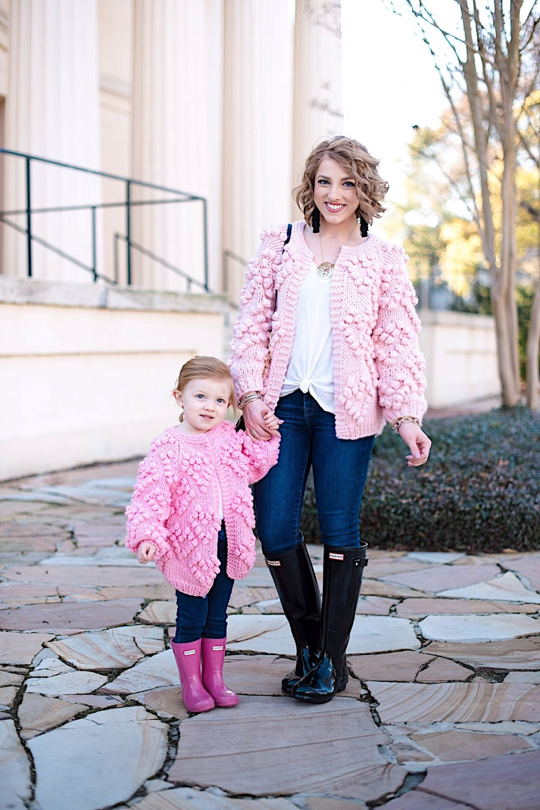Mommy and Me Valentines Day Looks - All details can be found on Something Delightful Blog