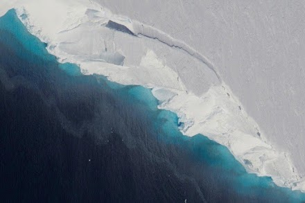 Climate crisis: Massive hole opens up under Antarctic glacier which could lead to catastrophic sea level rises