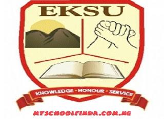 EKSU Post UTME Result 2018