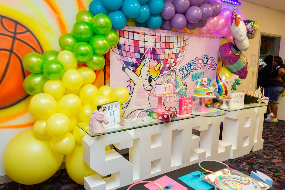 12 Ideas Originales Para Decorar Una Fiesta De Unicornios