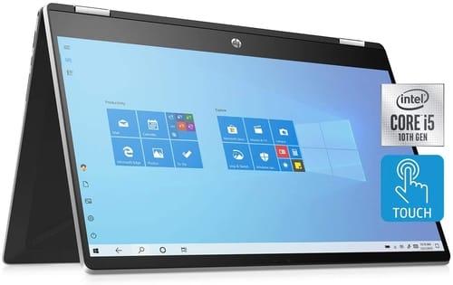 2020 HP 15-dq1071cl  Pavilion Convertible HD Laptop