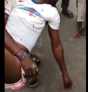Two feared dead others injured as SUV rams into #EndSARS protesters in Lagos (graphic video)