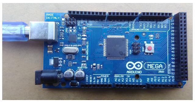 Tutorial Arduino Mega 2560
