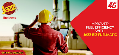 Jazz and Omnicomm bring globally acclaimed fuel management solution to Pakistan