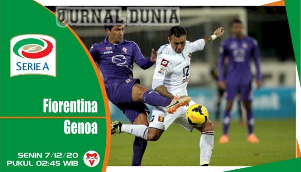 Prediksi Fiorentina Vs Genoa, Selasa 08 Desember 2020 Pukul 02.45 WIB @ RCTI
