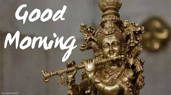 hare krishna hindu god good morning images