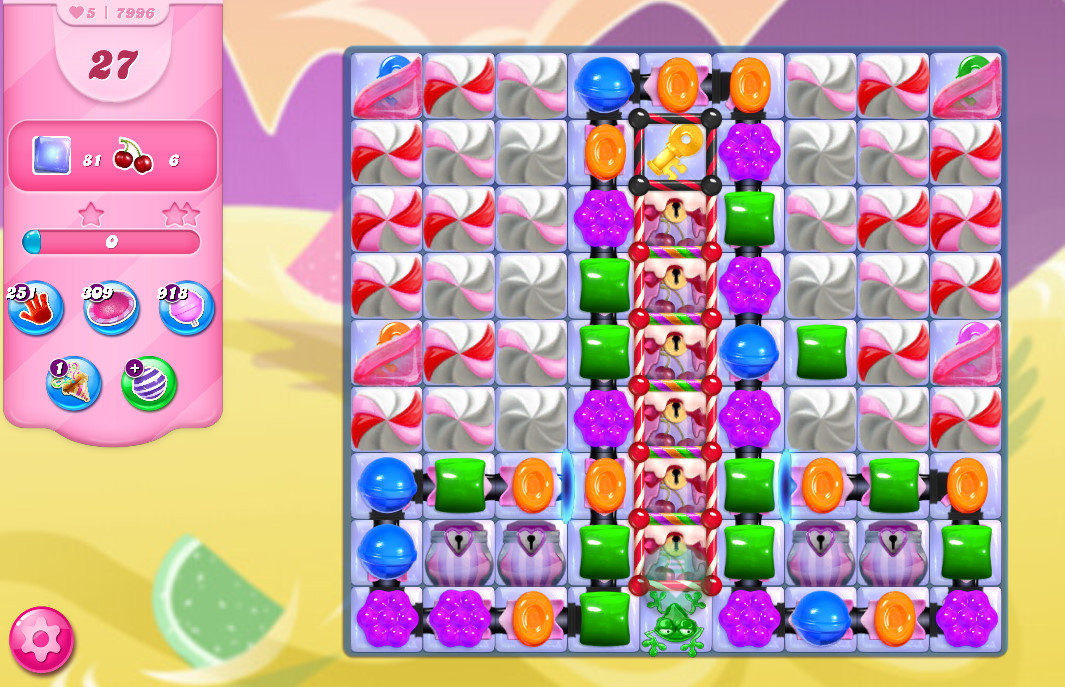 Candy Crush Saga level 7996