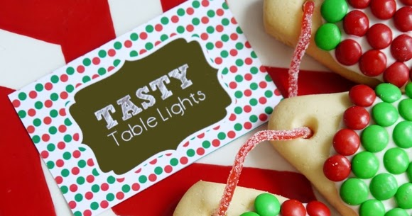 Christmas Lights Cookies Recipe with M&Ms - Party Ideas | Party ...