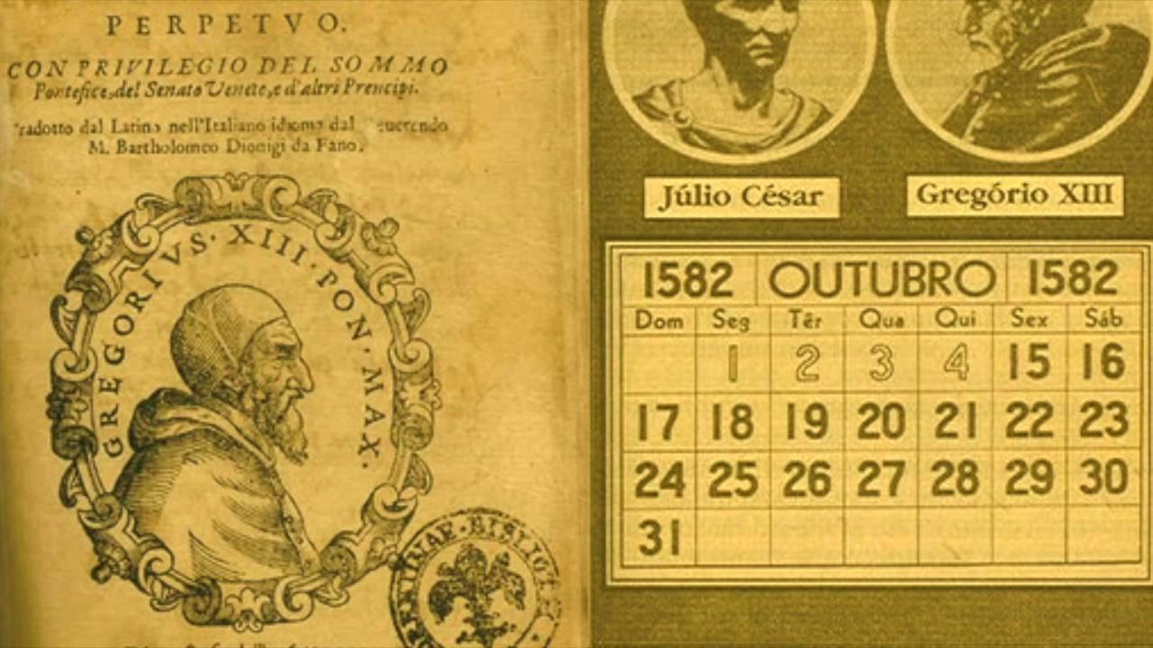 Calendario Gregoriano.Como Surgiu O Calendario Gregoriano O Curioso Mundo De
