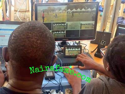 VAR! University of Ghana Covered All Football Match With Cameras. PHOTOS