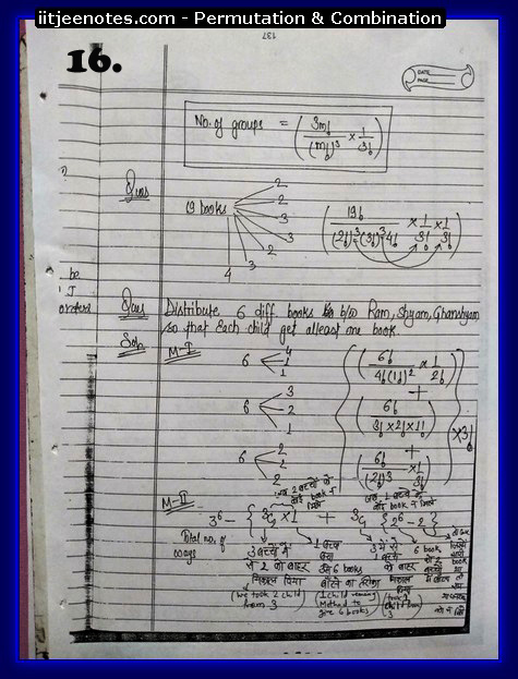 Permutation and Combination notes5
