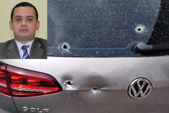 Ex-vereador e advogado Weliton Lopes tem carro alvejado por 5 tiros, em Brumado