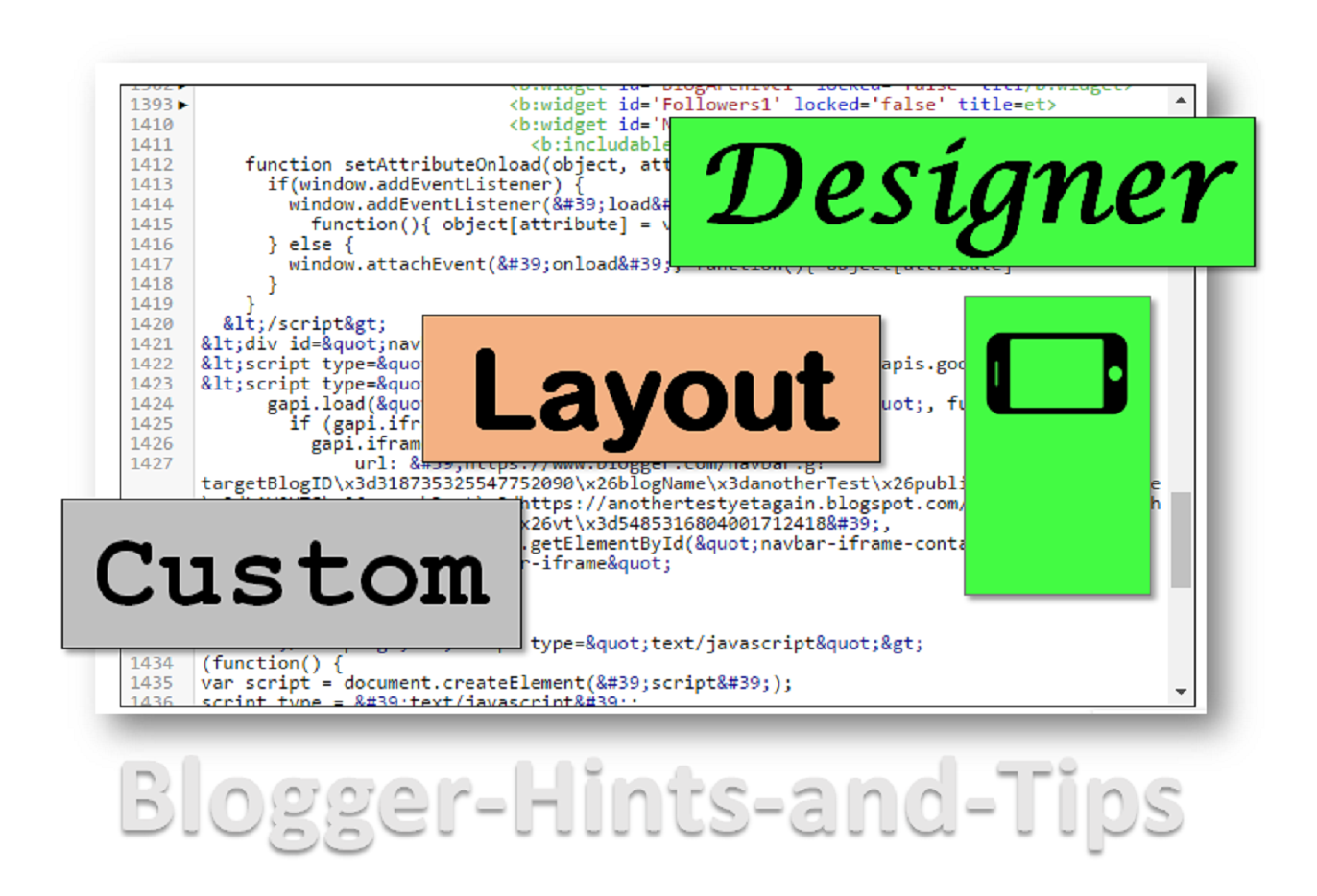 types of blogger template theme blogger hints and tips