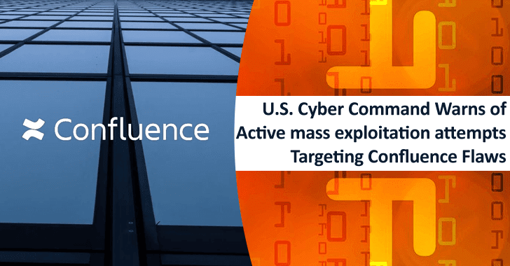 U.S. Cyber Command Warns of Active Mass Exploitation Attempts Targeting Confluence Flaws