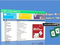 Aplikasi Rapor  Kurikulum 2013 Kelas 2 SD Semester Genap