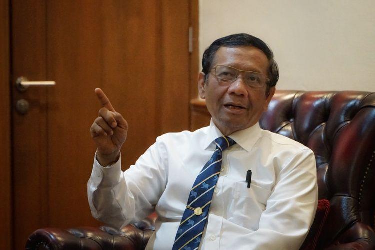 Menko Polhukam Mahfud MD: Hukum Itu Bisa Diperjualbelikan!