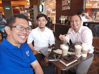 Pertemuan Cikgu Hailmi dengan GB Firdauz Abdullah di Johor pada bulan Mei 2019
