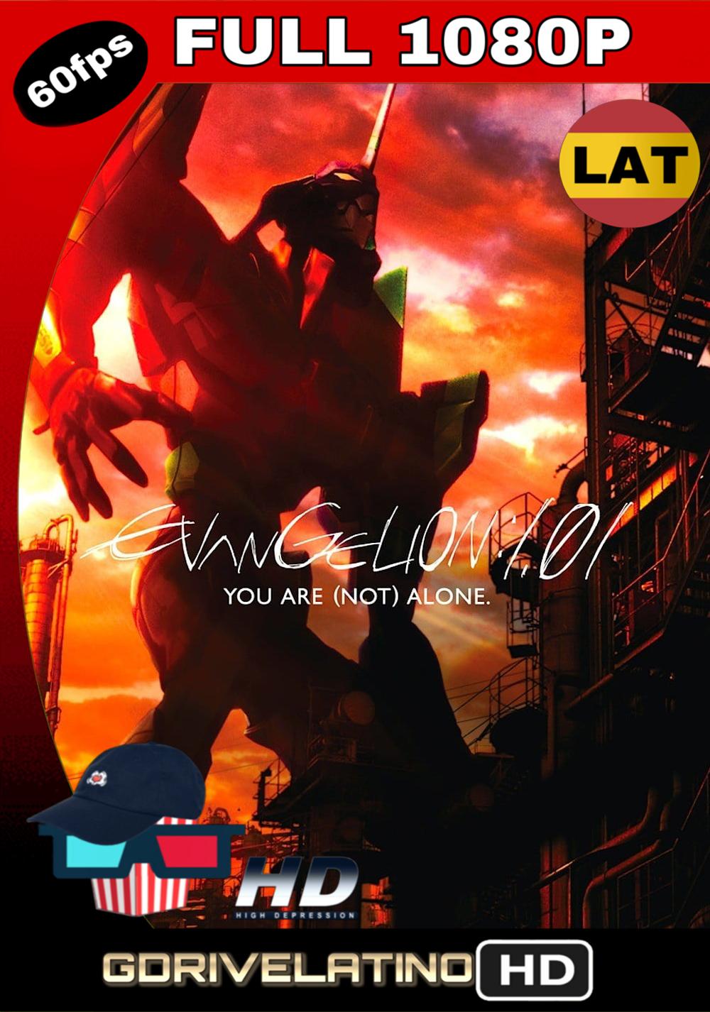 Evangelion: 1.11 Tu (No) Estás Solo (2007) BDRip FULL 1080p (Latino – Japonés) MKV