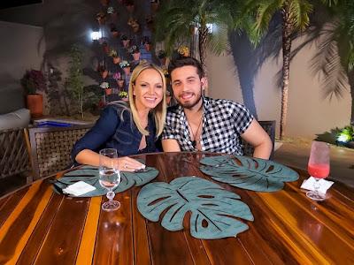 Eliana e Gustavo no Cardápio Surpresa (Divulgação/SBT)