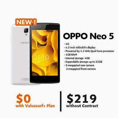 Harga Oppo Neo 5 Terbaru