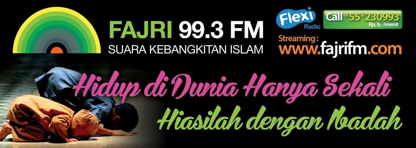 Dakwah Ahlussunnah: FAJRI FM STIKER DAKWAH
