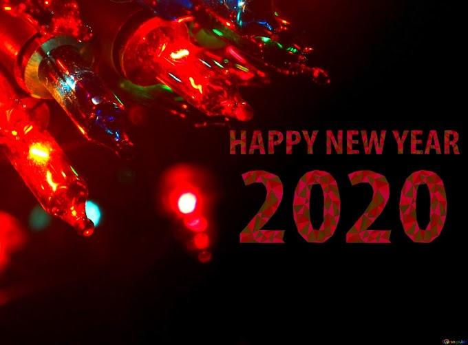 Whatsapp Happy New Year Image 2020