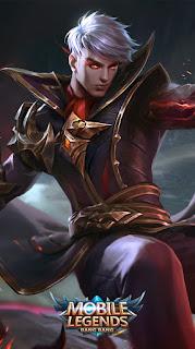 Alucard Fiery Inferno Heroes Fighter Assassin of Skins Season 2 Rework