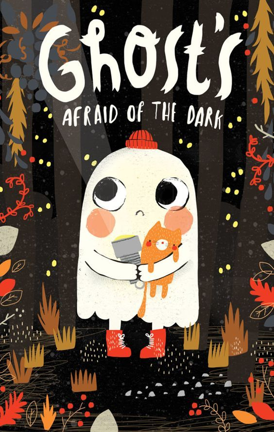 Story Book Ghost's Afraid of the Dark