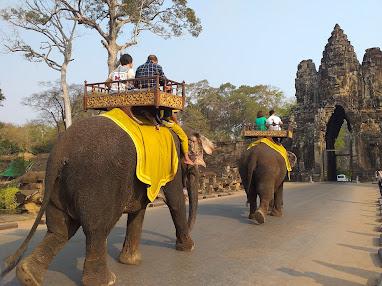 Angkor Thom Siem Reap Cambodge
