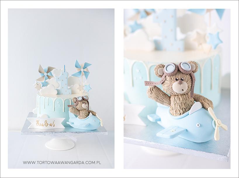drip cake torty na roczek warszawa