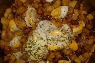 Krompir sa jajima