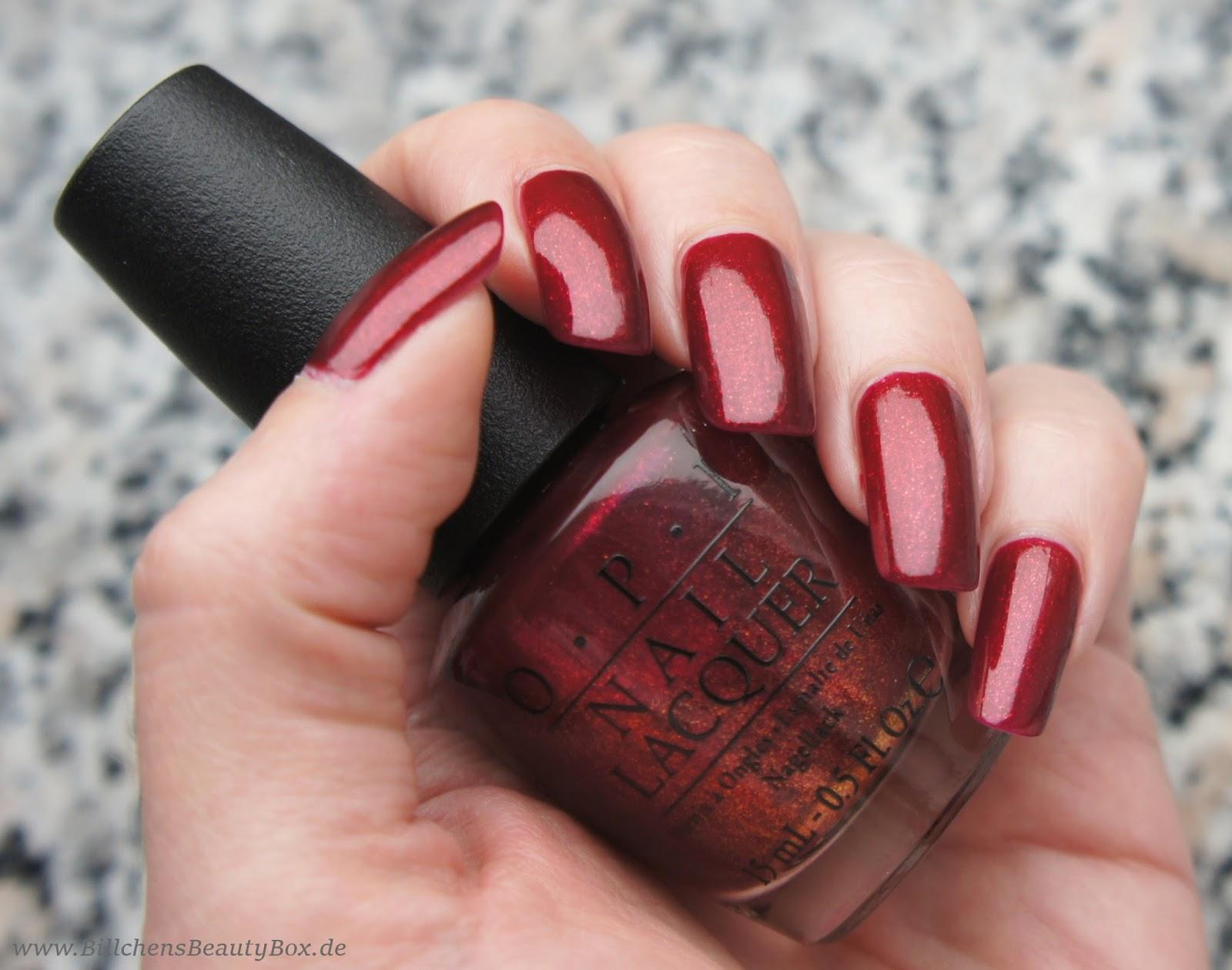 Nagellack] OPI - Red Fingers & Mistletoes