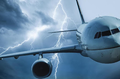Aviões-tempestade-radiação