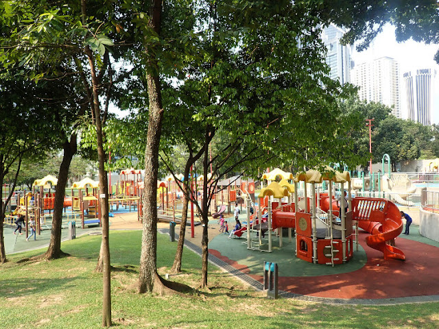 taman bermain di klcc park