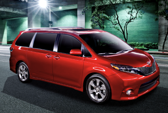 2017 Toyota Sienna AWD Review