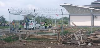pagar brc T.190x240 bandara tasikmalaya