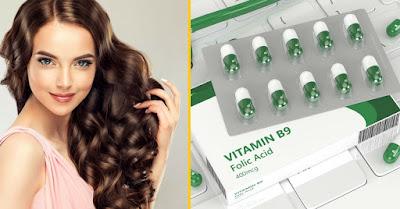 Bienfaits de la prise d'acide folique pour avoir des cheveux beaux et sains