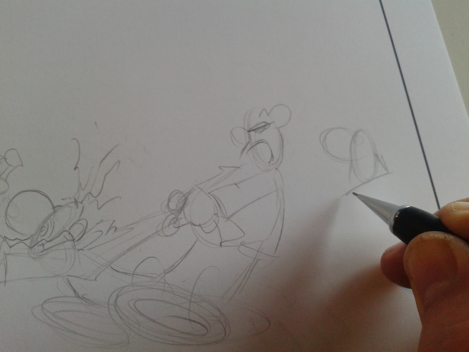 Diary Of A Cartoonist How To Draw An Editorial Cartoon Part 1