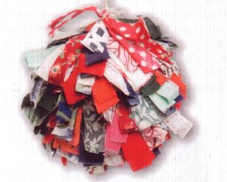 текстильный мячик