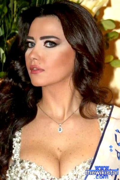 رنا خطار (Rana Khattar)، عارضة أزياء لبنانية، ملكة جمال العيون 2013.