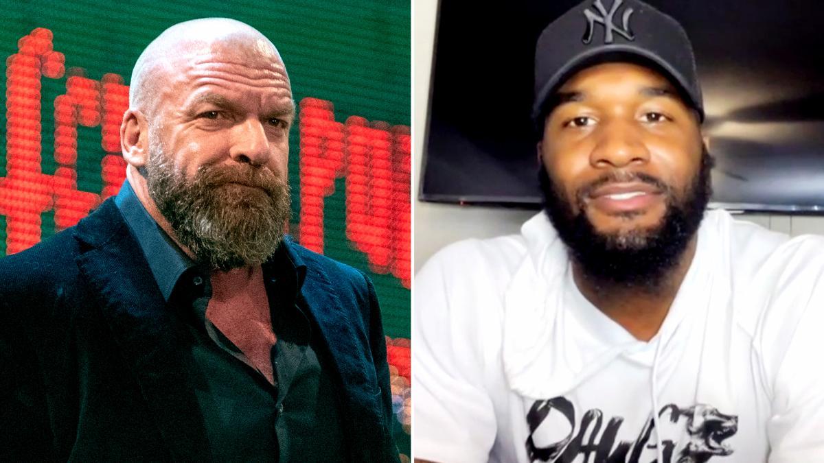 """WWE lança """"teaser"""" sobre possível combate entre Triple H e estrela da NFL"""