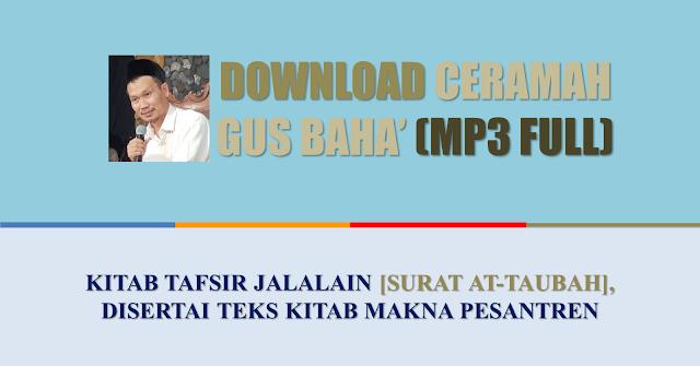 download ceramah full ngaji gus baha jalalain dan alhikam
