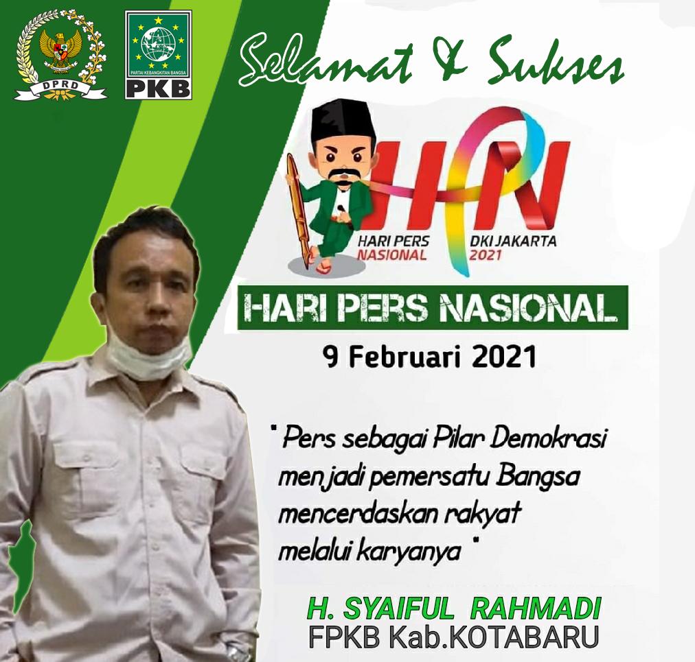 Syaiful Rahmadi DPRD Kotabaru