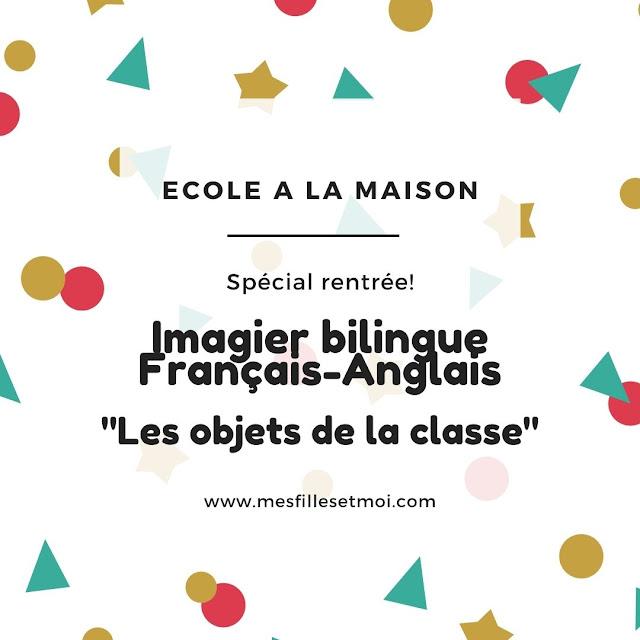 cartes de nomenclatures anglais français bilingue IEF
