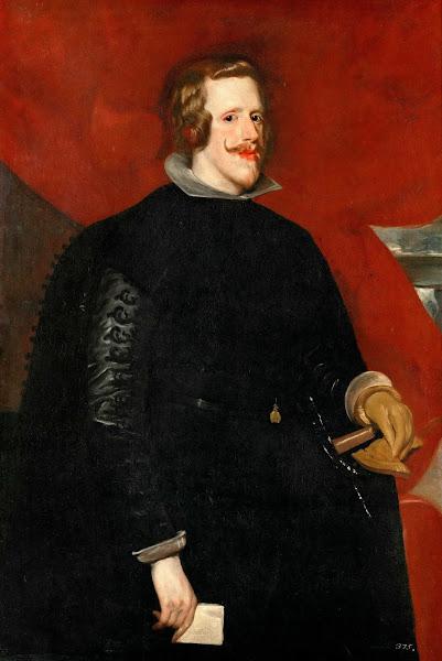 Диего Веласкес - Портрет Филиппа IV (1632)